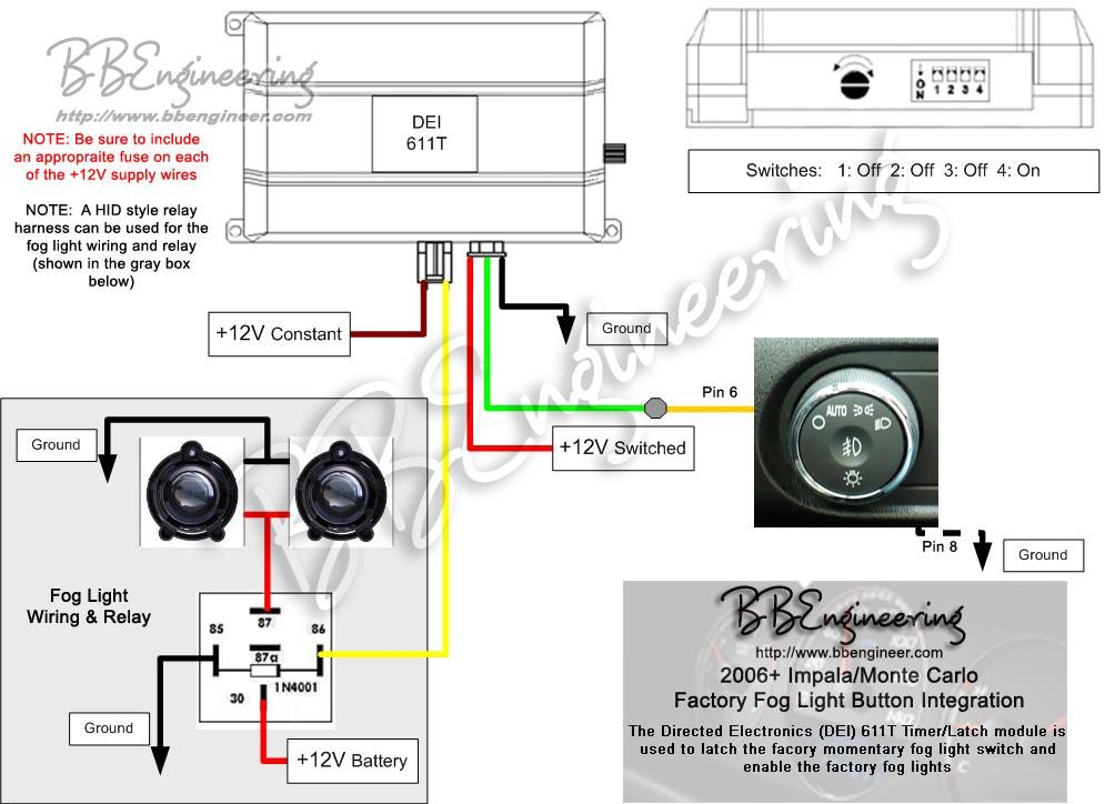 2006_Impala_Fog_Lights added factory foglights, indicator light possible? chevy impala 2014 Impala Wiring Diagram Schematic at panicattacktreatment.co