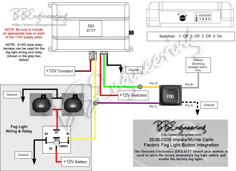 Impala_Monte_Fog_Lights 2001 monte carlo wiring diagram 2001 impala radio wiring diagram Fog Light Wiring Diagram without Relay at gsmx.co