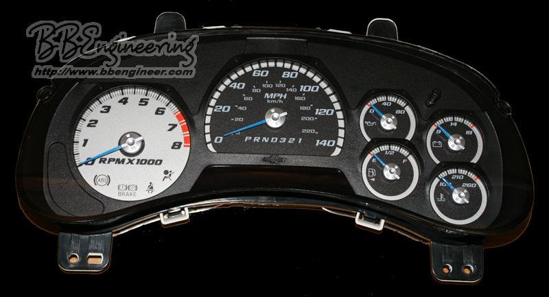 Trailblazer LED Speedometer and more - Chevrolet Forum ...