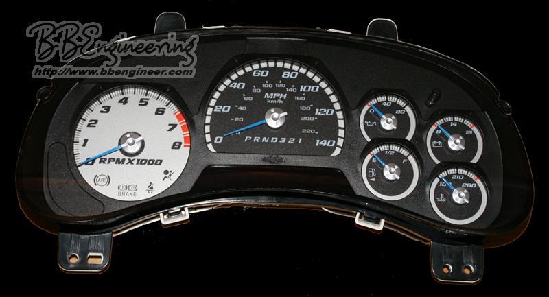Trailblazer LED Speedometer and more - Chevrolet Forum ...